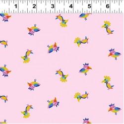 Sleepy Time Birds - LIGHT PINK