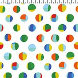 Sleepy Time Dots - WHITE