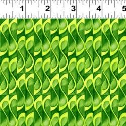 Vineyard Scroll - GREEN