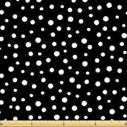 Basic Irregular Dot - BLACK