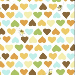 Hearts and Bees - LT GOLD