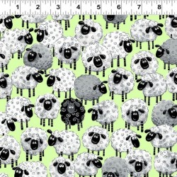 Allover Sheep - GREEN