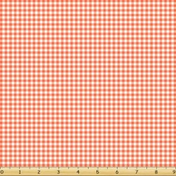Basic Gingham Check - LT CORAL