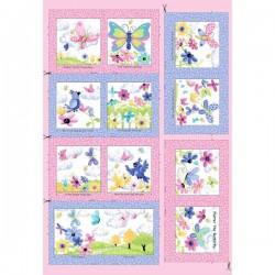 Panel - Flutter Storybook 90cm - MULTI