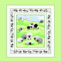 Panel - Lewe the Ewe 90cm - MULTI