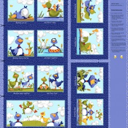 Panel - Bill and Bob Storybook 90cm - MULTI