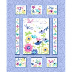 Panel - Flutter the Butterfly 90cm - BLUE