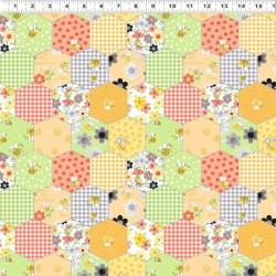 Honeycomb Patchwork - MULTI