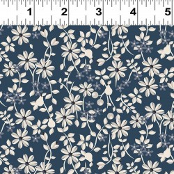 Small Floral - NAVY