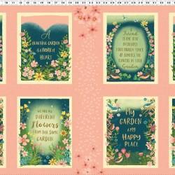 Garden Notes Panel (60cm)