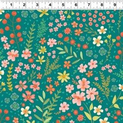 Feature Floral - TEAL