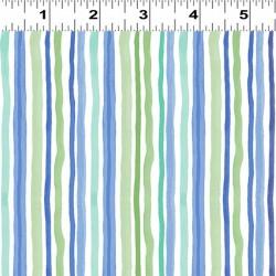 Narrow Stripes - BLUE
