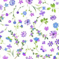 Floral Sprigs - PURPLE