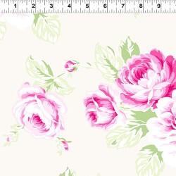 Feature Floral - LT CREAM