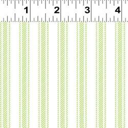 Ticking Stripe - GREEN
