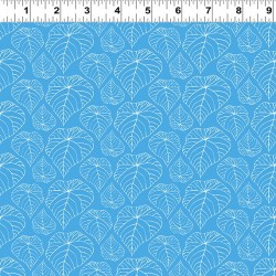 Palm Fronds - BLUE