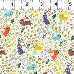 Frolicking Bunnies - MULTI