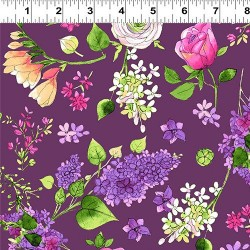 Feature Floral - EGGPLANT