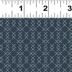 Cross Stitch Stripe - NAVY