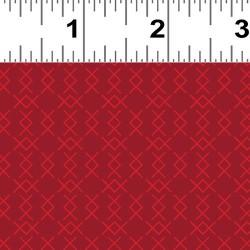 Cross Stitch Stripe - RED