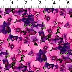 Packed Floral - FUCHSIA