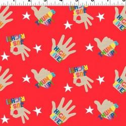 High Five Hands - RED