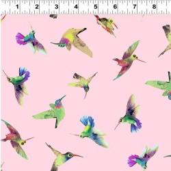 Tossed Birds - PINK