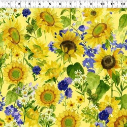 Sunflowers and Daisys - YELLOW