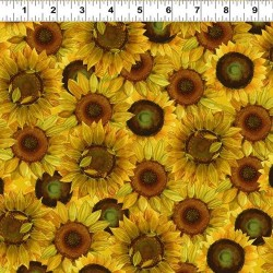 Large Sunflowers - DARK YELLOW
