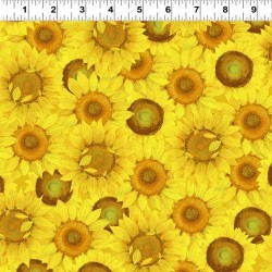 Large Sunflowers - BRIGHT YELLOW