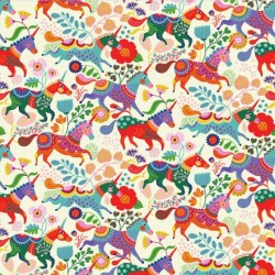 Unicorns and Flowers Feature - CREAM
