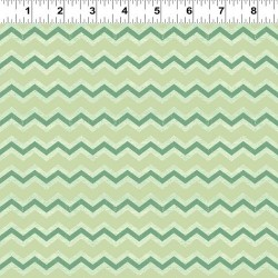 Zig Zag Stripes - GREEN