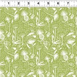Medium Thistles - GREEN/WHITE