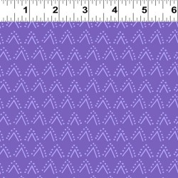 Arrows and Dots  - PURPLE