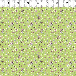 Mini Tossed Triangles - GREEN
