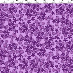 Tossed Flowers - PURPLE