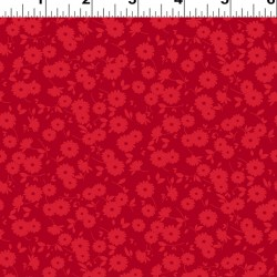 Tossed Daisies - RED
