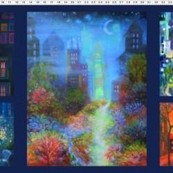 City Lights Digital Panel 110cm - MULTI