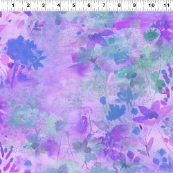 Waterpaint Flowers FEATURE - PINK