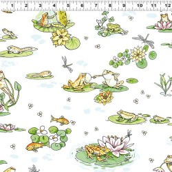Pond Toile - WHITE