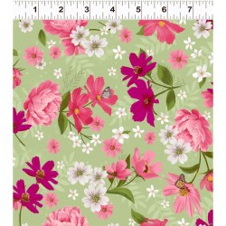 Mixed Floral - GREEN