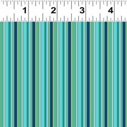 Skinny Stripe - TURQUOISE