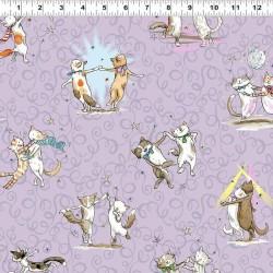 Dancing Cats - PURPLE