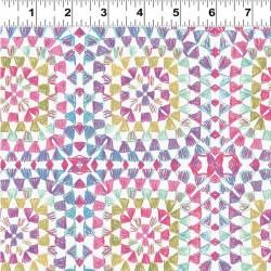 Crochet Squares - PINK