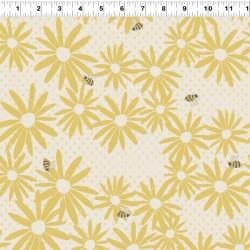 Floral Buz - CREAM/YELLOW
