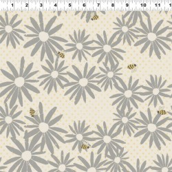 Floral BuzZ - CREAM/TAUPE