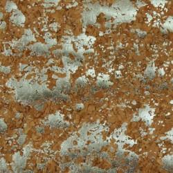 "Cork Fabric-Natural/Silver- 18""x15"""