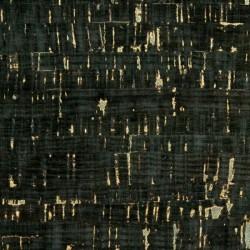 "Cork Fabric-Color/Black- 18""x15"""