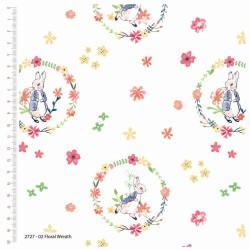 Floral Wreath - WHITE