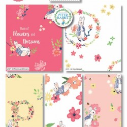 Peter Rabbit Flowers and Dreams - FQ (5pc)